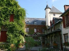 Castel Hotel 1904, Saint-Gervais-d'Auvergne (рядом с городом Châteauneuf-les-Bains)