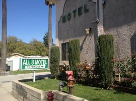 All 8 Motel, Azusa (Near Glendora)