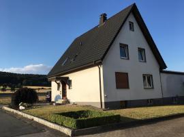 Ferienwohnung am Wiehen, Rödinghausen (Holzhausen yakınında)