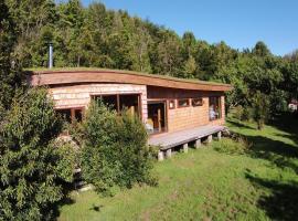 Casa Chiloé en el lago, Chonchi (Notuél yakınında)