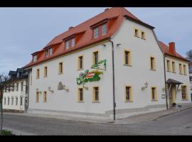 Pension Gasthaus Zur Forelle, Seeburg (Schochwitz yakınında)