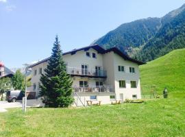 Apart Café Tyrol, Umhausen (Niederthai yakınında)