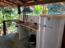 Casa para até 4 pessoas na Barra do Una, Pato Branco (São Lourenço do Oeste yakınında)