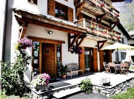 Chez Mamie Anna (B&B et Chalet), Bessans (рядом с городом Bonneval-sur-Arc)