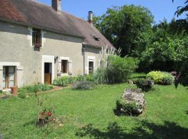 Maison longère typique en Bourgogne, Lurcy-le-Bourg (рядом с городом Saint-Sulpice)