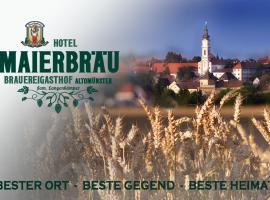 Brauereigasthof und Hotel Maierbräu, Altomünster (Odelzhausen yakınında)