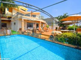 Heart of the Mountain Villa with Jaccuzzi & Pool, Migdal (рядом с городом Гиносар)