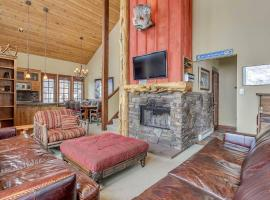 High-end summer/winter lodge on slopes of Alta