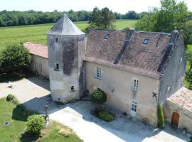 B&B Château de Pernan, Avy (рядом с городом Chadenac)