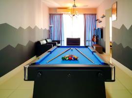 Sha Homes - Pool Table, Wifi near Paradigm Mall