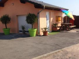 cosy logement à la campagne, Marthille (рядом с городом Thonville)