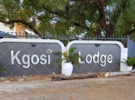 Kgosi Lodge