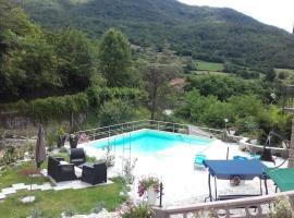 L'arcobaleno, Casola in Lunigiana (Pugliano yakınında)