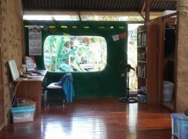 Hermosa Cabaña en ecoaldea en amazonia