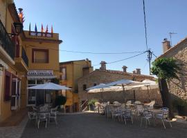 Hostal Restaurant Casa Comaulis, La Vajol (Maçanet de Cabrenys yakınında)
