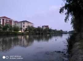 Riverside Villa Near Disney, Şanghay (Sanzao yakınında)