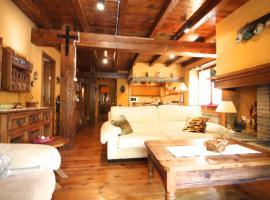 Casa rustica para 6 con chimenea y jardin, l'Aldosa, vallnord