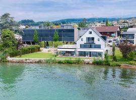 Brand New Modern VILLA direct at the lake of Zurich, Meilen (Herrliberg yakınında)