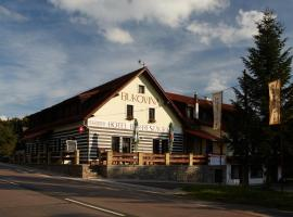 Hotel a Restaurace Bukovina, Mladé Buky (Hertvíkovice yakınında)
