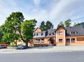Hotel Stara Posta, Filipovice (Bělá pod Pradědem yakınında)