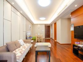 Three-bedroom Apartment Near Shanghai National Convention & Exhibition Center, Şanghay (Panlong yakınında)