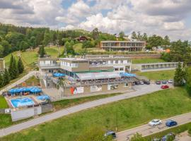 Hotel Rakovec, Brno (Bystrc yakınında)