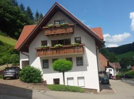 Ferienwohnung Am Rebberg, Dörlinbach (Schuttertal yakınında)