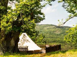 Canvas tent chestnut