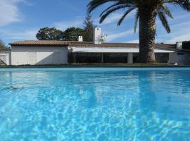 Villa californienne dans domaine prestigieux