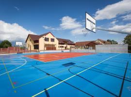 Sport relax hotel Na kopečku, Křinec (Ledce yakınında)