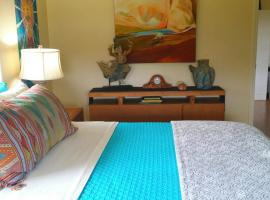 Halawai Haven, a Stylish Sanctuary Stay by Green Sands Beach, Naalehu