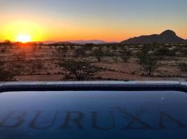 Buruxa Camp, Kamanjab (Near Sesfontein)