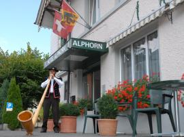 Hotel Alphorn, Интерлакен