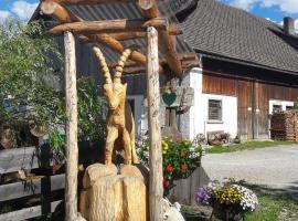 Lassacher Biobauernhof, Mariapfarr (Steindorf yakınında)