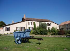 Le Logis des Quatre Puits, Neuvicq-Montguyon (рядом с городом Boscamnant)