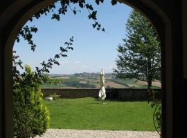 Soggiorno in un Castello, Scandeluzza (Villa San Secondo yakınında)