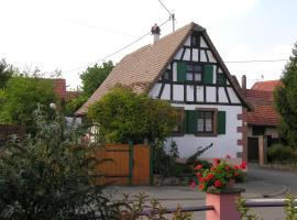 Gîte au coeur d'Alsace, Buswiller (рядом с городом Obermodern)