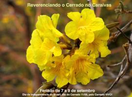 Reserva Ecológica Caraívas, Pirenópolis (Cocalzinho de Goias yakınında)