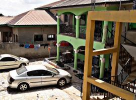 Carl's Apartment, Аккра (рядом с городом Gbegbenshona)