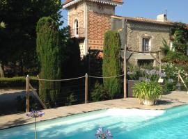 Le pigeonnier avec piscine chauffée, Alzonne (рядом с городом Saint-Martin-le-Vieil)