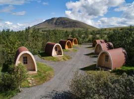 Fossatun Camping Pods & Cottages - Sleeping Bag Accommodation