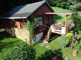 Ferienhaus Sachse, Jahnsdorf (Lengefeld yakınında)