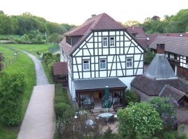 Hammermühle Hotel & Gesundheitsresort, Stadtroda (Weißbach yakınında)