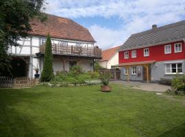 Ferienhaus am Eisgraben, Hausen (Ostheim yakınında)