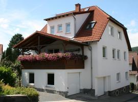 Ferienwohnung am Nibelungensteig, Lautertal (Reichenbach yakınında)