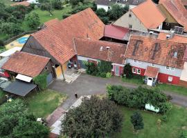 Ferienhaus vom Bahratal, Hausen (Ostheim yakınında)