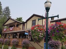Mrs. Anderson's Lodging House, Leavenworth