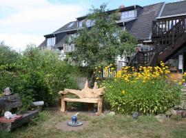 Grotestieg und Kiewitt verbunden, Retschow (Bad Doberan yakınında)