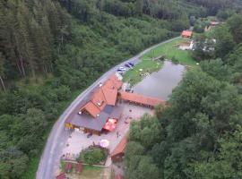 Gallien Alm - Holzhaus