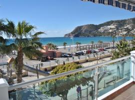 Ideal parejas primera línea playa con terraza GB4
